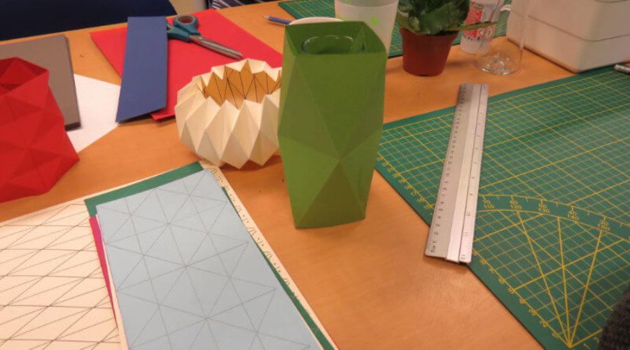 Soirées de la création – Origami