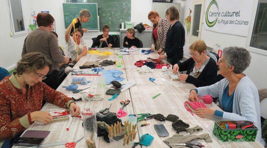 Soirée de la création – Récupération textile