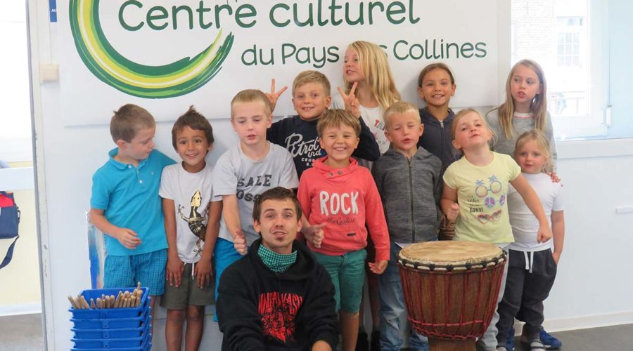 "Stage ""Nature & percussions sauvages"""